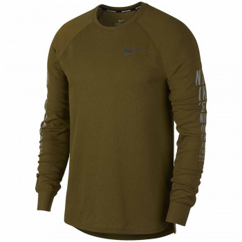 NIKE Блузи M NK MILER WAFFLE TOP LS