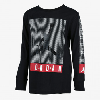 NIKE Тениски JDB JUMPMAN BLINDS LS TEE