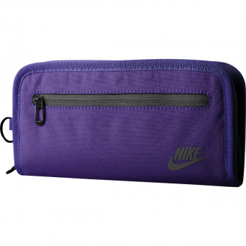 Nike- JR Портфейли NIKE HERITAGE LONG WALLET COURT PURPLE/BLACK
