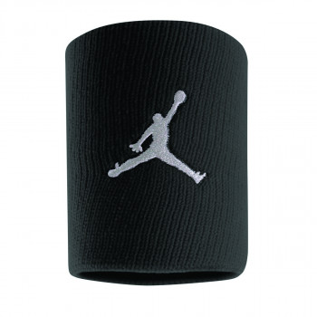 Nike- JR Ленти за ръце JORDAN JUMPMAN WRISTBANDS BLACK/WHITE