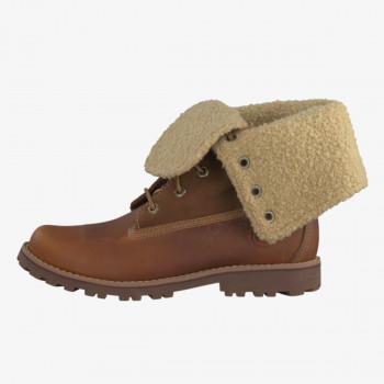 TIMBERLAND Зимни обувки AUTH 6IN SHRL BT BRO BROWN