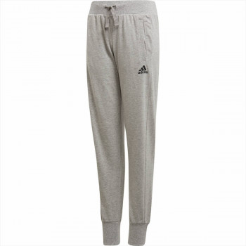 adidas Панталони YG TAPERED PANT     MGREYH/BLACK