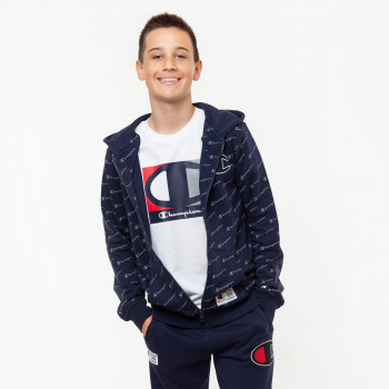 CHAMPION Горнища BOYS ALL OVER FULL ZIP HOODY