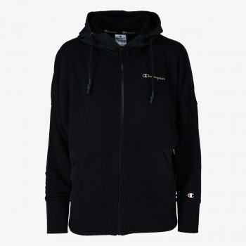 CHAMPION Суитшърти с цип LADY SHINE FULL ZIP HOODY