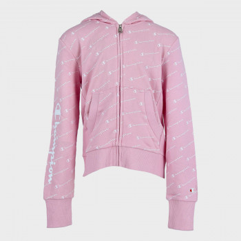 CHAMPION Горнища GIRLS ALL OVER FULL ZIP HOODY