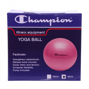 CHAMPION Топки CHAMPION YOGA BALL PINK