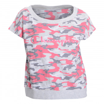 CHAMPION Суитшърти CAMO LADY SHORT SLEEVE SWEATSHIRT
