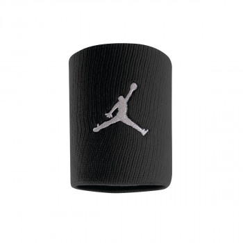 Nike- JR НАКИТНИЦИ JORDAN JUMPMAN WRISTBANDS BLACK/WHITE