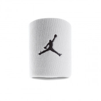 Nike- JR НАКИТНИЦИ JORDAN JUMPMAN WRISTBANDS WHITE/BLACK
