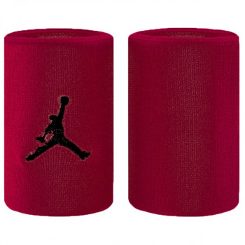Nike- JR НАКИТНИЦИ JORDAN JUMPMAN WRISTBANDS GYM RED/BLACK