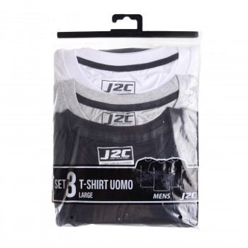 J2C Тениски J2C SHORT SLEEVE 3-PACK T-SHIRT SNR