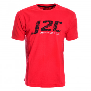 J2C Тениски J2C SHORT SLEEVE BIG LOGO T-SHIRT SNR