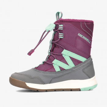MERRELL Спортни обувки M-SNOW CRUSH WTRPF PURPLE/TURQ