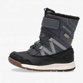 MERRELL Спортни обувки M-SNOW CRUSH JR WTRPF GREY/BLACK