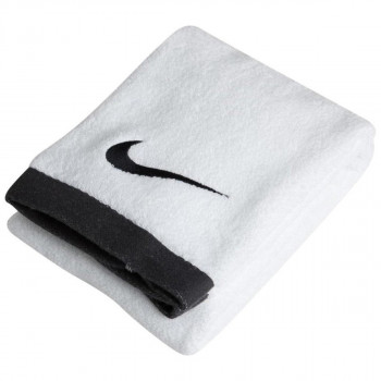 Nike- JR Кърпи NIKE FUNDAMENTAL TOWEL L WHITE/ BLACK
