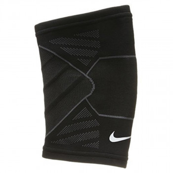 Nike- JR Наколенки NIKE ADVANTAGE KNITTED ELBOW SLEEVE M BLACK/ANTHRACITE/WHITE