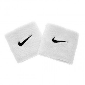Nike- JR Ленти за ръце NIKE SWOOSH WRISTBANDS WHITE/BLACK