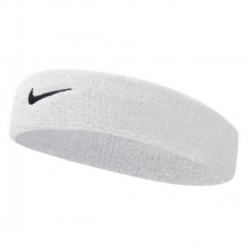 Nike- JR НАКИТНИЦИ NIKE SWOOSH HEADBAND WHITE/BLACK