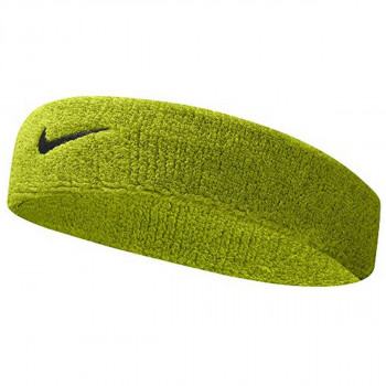 Nike- JR НАКИТНИЦИ NIKE SWOOSH HEADBAND ATOMIC GREEN/BLACK