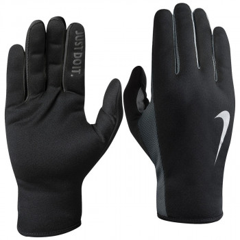 NIKE Ръкавици NIKE MEN S RALLY RUN GLOVES 2.0 XL BLACK/ANTHRACITE/SILVER