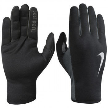 NIKE Ръкавици NIKE WOMEN S RALLY RUN GLOVES 2.0 M BLACK/VOLT/SILVER