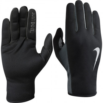 NIKE Ръкавици NIKE WOMEN S RALLY RUN GLOVES 2.0 S BLACK/VOLT/SILVER