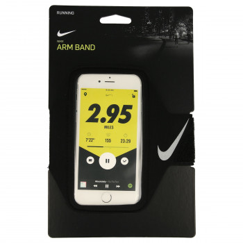 Nike- JR Протектори NIKE LEAN ARM BAND BLACK/BLACK/SILVER