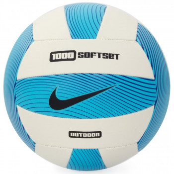Nike- JR Топки NIKE 1000 SOFTSET OUTDOOR VOLLEYBALL INFLATED WITH BOX ELECTRIC GREEN/WHITE/GAMMA BLUE/BLACK