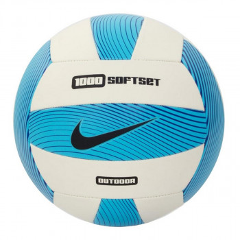 Nike- JR Топки NIKE 1000 SOFTSET OUTDOOR VOLLEYBALL INFLATED WITH BOX GAMMA BLUE/WHITE/HYPER COBALT/BLACK