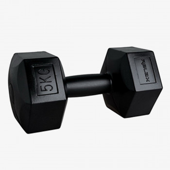 RING SPORT Тежести HEXAGON DUMBBELL 1X5 KG