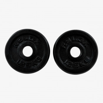 RING SPORT Тежести BLACK PAINTING  REGULAR PLATE 2X1,25KG