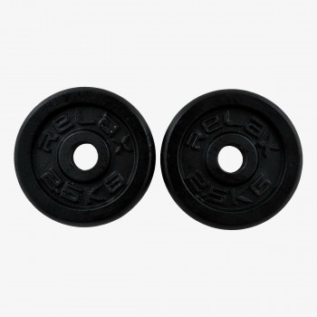RING SPORT Тежести BLACK PAINTING REGULAR PLATE 2X2,5KG