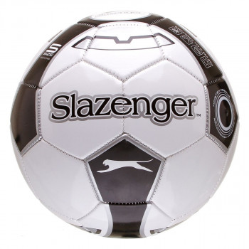 SLAZ FOOTBALL SIZE 5 WHITE/BLACK