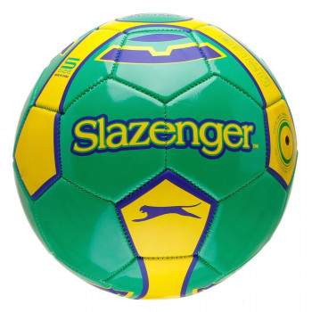 SLAZ FOOTBALL SIZE 5 GREEN/YELLOW