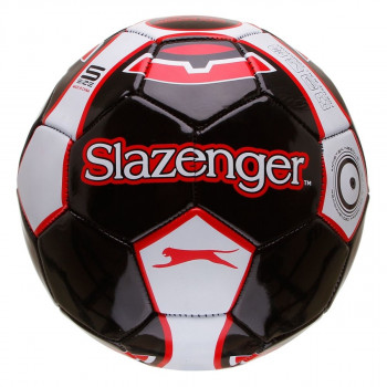 SLAZ FOOTBALL SIZE 5 BLACK/WHITE