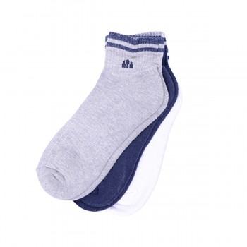 ELLESSE Чорапи COTTON MEN HALF TERRY SUPERSNEAKER SOCK WITH EMBROIDERY 3PPK