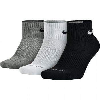 NIKE Чорапи 3PPK DRI-FIT CUSHION QUARTER