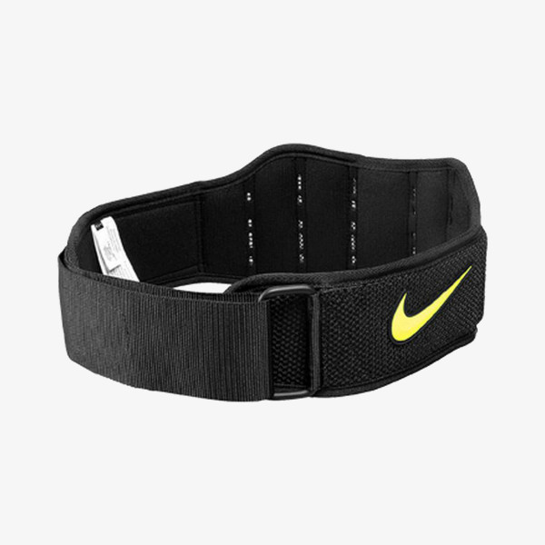 Nike- JR Фитнес аксесоари NIKE STRUCTURED TRAINING BELT 2.0 XL BLACK/VOLT