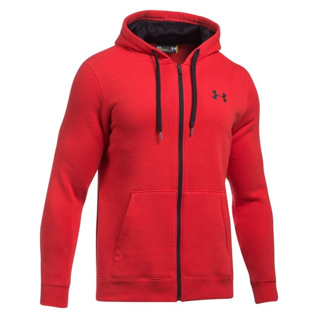 UNDER ARMOUR Суитшърти с цип RIVAL FITTED FULL ZIP