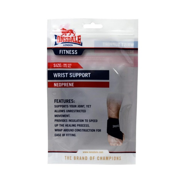 LONSDALE Фитнес аксесоари LONSDALE NEO WRIST SUP00 BLACK -