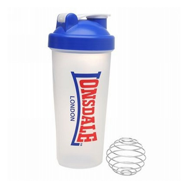 LONSDALE Бутилки за вода LONSDALE VINTAGE SHAKER 30 CLEAR/BLUE/RED