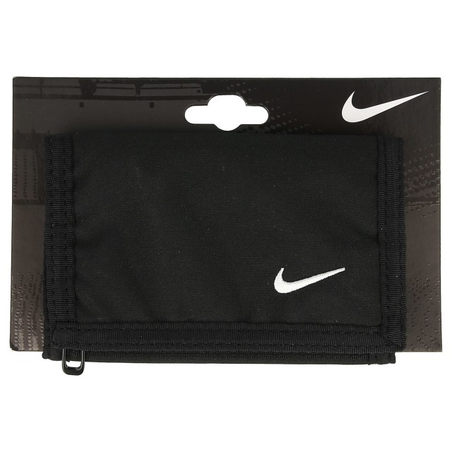 2d7aed9433b Nike- JR Портфейли NIKE BASIC WALLET BLACK/WHITE N.IA.08.068.NS ...