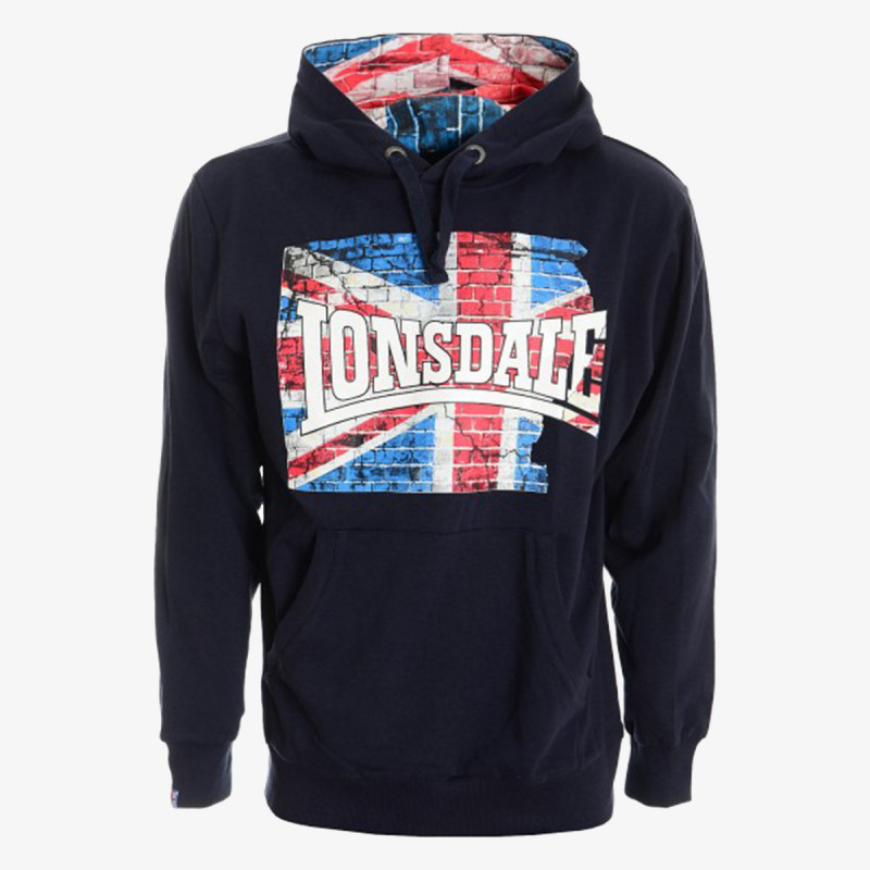 LONSDALE Суитшърти с качулка LONSDALE FLAG 2 HOODY