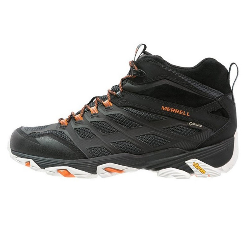 MERRELL Зимни обувки MOAB FST MID GORE-TEX BLACK/ORANGE