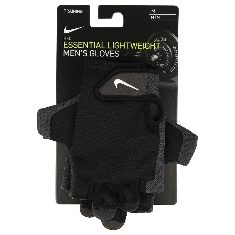 Nike- JR Ръкавици за фитнес NIKE MENS ESSENTIAL FITNESS GLOVES BLACK/ANTHRACITE/WHITE M