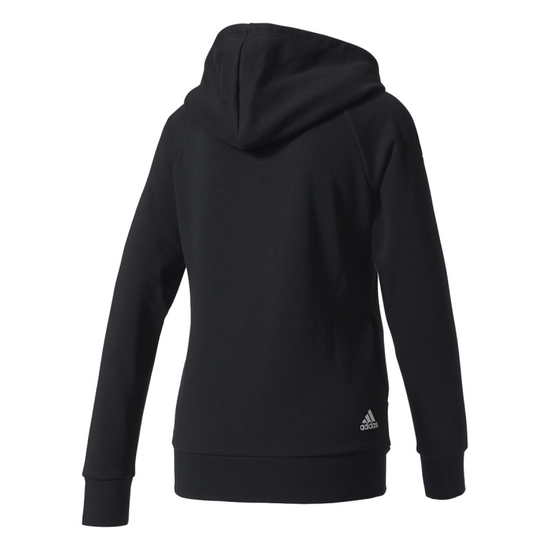 adidas Суитшърти с качулка ESS LIN OH HD       BLACK