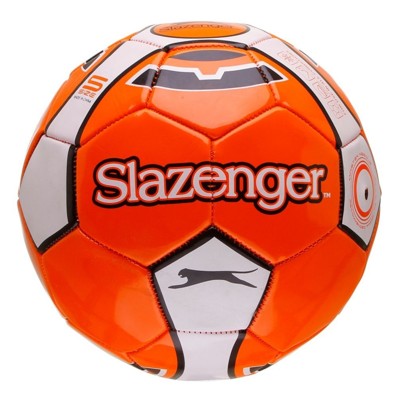SLAZENGER Топки SLAZ FOOTBALL SIZE 5 ORANGE/WHITE