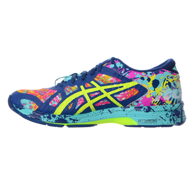 ASICS Спортни обувки GEL-NOOSA TRI 11 POSEIDON/SAFETY YELLOW/COCKATOO